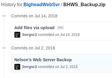 Bighead - Hack The Box - snowscan io
