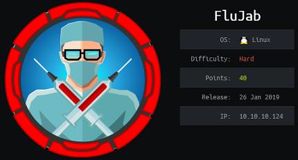 Flujab - Hack The Box - snowscan io