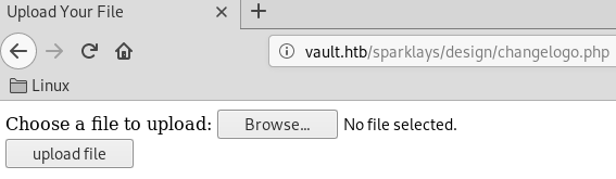 Vault - Hack The Box - snowscan io